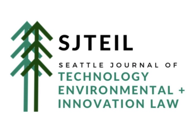 Seattle Journal of Technology, Environmental & Innovation Law