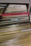 Microfiche in use