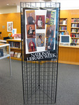 National Library Week READ poster display