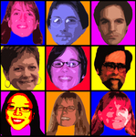 Warhol Inspired Law Librarians by Seattle University Law Library
