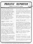 Prolific Reporter January 16, 1985