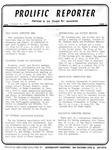 Prolific Reporter October 14, 1985
