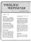 Prolific Reporter January 14, 1986