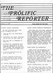 Prolific Reporter March 3, 1986