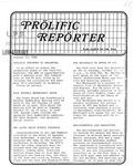 Prolific Reporter October 13, 1986