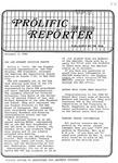 Prolific Reporter November 3, 1986