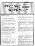 Prolific Reporter November 10, 1986