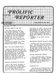 Prolific Reporter November 24, 1986