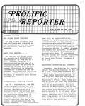 Prolific Reporter December 1, 1986