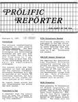 Prolific Reporter February 9, 1987