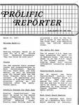 Prolific Reporter March 23, 1987