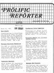 Prolific Reporter March 30, 1987