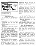 Prolific Reporter January 17, 1989
