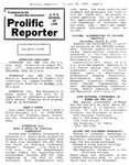 Prolific Reporter January 30, 1989 by Seattle University School of Law Student Bar Association