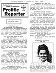 Prolific Reporter February 13, 1989