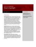 Dean's Spotlight April 18, 2011