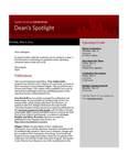 Dean's Spotlight May 6, 2013