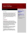 Dean's Spotlight June 3, 2013