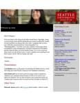 Dean's Spotlight February 13, 2019 by Seattle University School of Law Dean