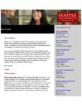 Dean's Spotlight May 6, 2019 by Seattle University School of Law Dean