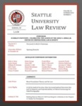 Seattle University Law Review