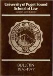 Bulletin 1976-1977 by Seattle University Law Library
