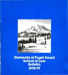 Bulletin 1978-1979 by Seattle University Law Library