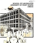 Bulletin 1980-1981 by Seattle University Law Library