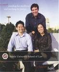 Bulletin 2008-2009 by Seattle University Law Library